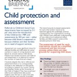 Evidence briefing_Child protection and assessment