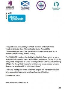 GIRFEC leaflet back page