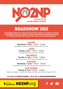 NO2NP Roadshow flyer May & June 2015
